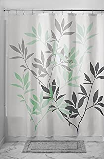 Amazon.com: InterDesign Lattice Soft Fabric Shower Curtain, 72\