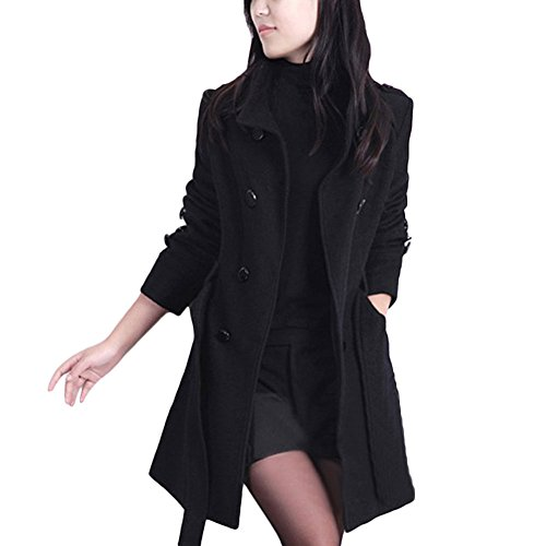 Femme Tidecc Tidecc Noir Tidecc Manteau Noir Manteau Femme Noir Femme Manteau qwPxBTX4xz