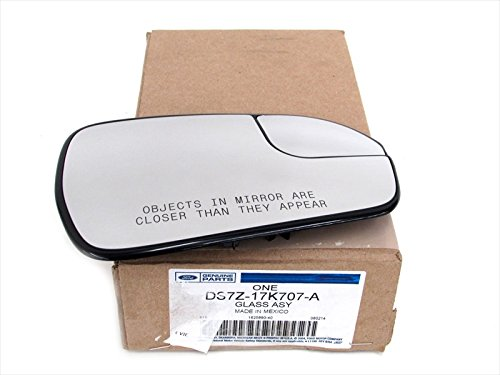Ford 2013-2014 Fusion Right Passenger Side Mirror Glass Without Signal OEM New DS7Z-17K707-A