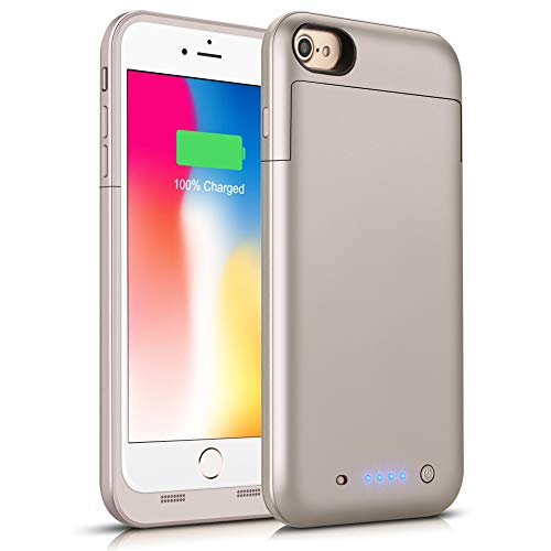 Battery Case for iPhone 6s Plus/6 Plus, Conqto 6800mAh Porta