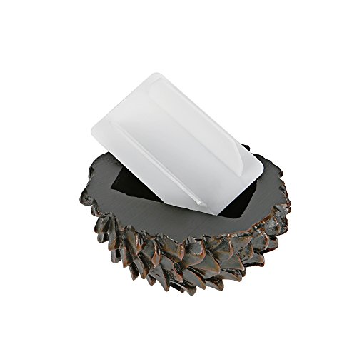 Stone Garden Key (Embeau Fake Pinecone Key Box, Looks & Feels Like Real Pinecone - Safe for Outdoor Garden or Yard, Safe Hide Key Under Stone for Outdoor Garden or Yard)