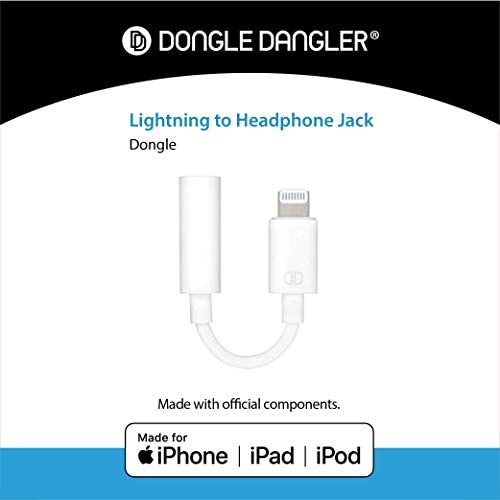 Amazon Com Dongle Dangler 3 5mm Headphone Jack Adapter Compatible With Iphone 12 Mini Se 12 12 Pro Max 11 11 Pro 11 Pro Max Xs Xs Max Xr X 8 8 Plus 7 7 Plus Mfi Certified Adapter Cable 1 Pack Electronics
