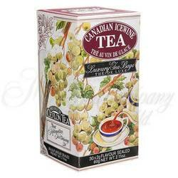 Ice Wine Tea 30 individually foil wrapped bags in carton - Foil Carton