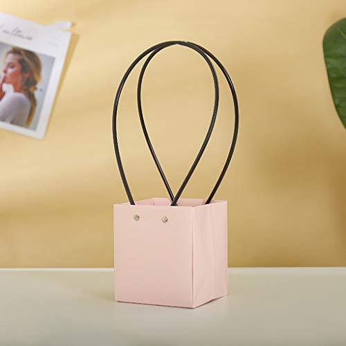 Euone Clearance Sales,5pcs Paper Flower Bag Wreaths Flower Box Packaging Decorative Flower Handbag