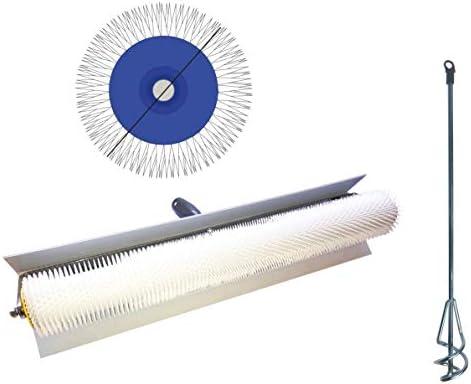 Rouleau débulleur 25 cm 11 mm Rouleau à pointes protection anti-éclaboussures
