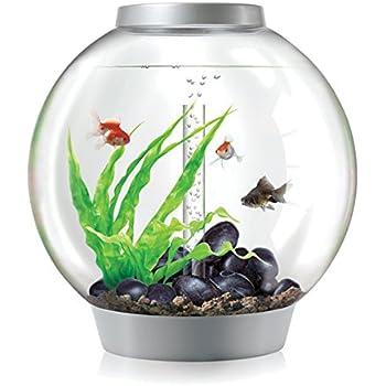 biOrb CLASSIC 60 Aquarium with LED Light – 16 Gallon, Silver