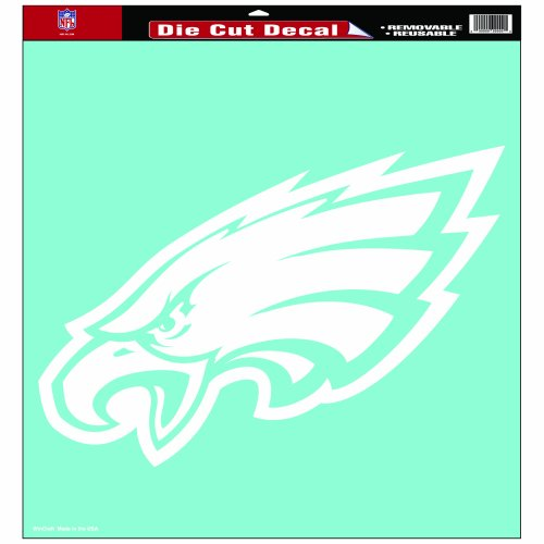 Wincraft Philadelphia Eagles Decal (NFL Philadelphia Eagles 18-by-18-Inch Diecut )