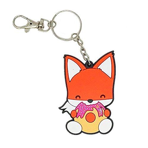 Fox Keychain - Bellzi Foxxi the Cute Orange Fox Keychain