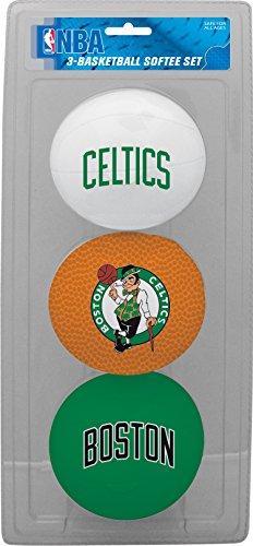 NBA Boston Celtics 3-Ball Soft Basketball Set