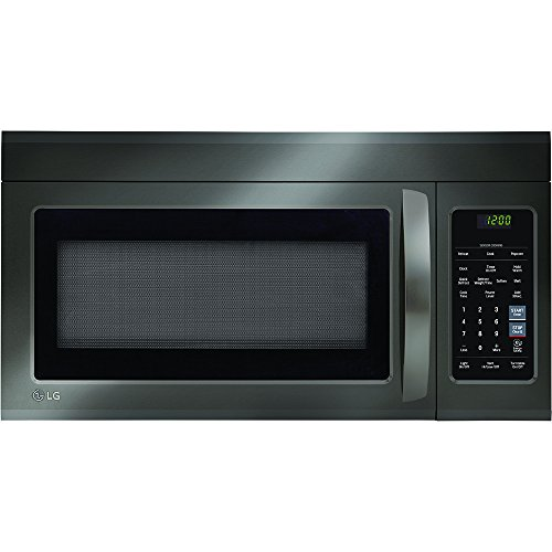 LG LMV1831BD 1.8 Cu. Ft. Black Stainless Over-The-Range Microwave (Certified Refurbished)