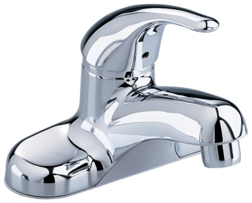 low-cost American Standard 2175.503.002 Colony Soft Single Metal Lever Centerset Lavatory Faucet with Speed Connect Pop-Up Drain, Polished Chrome