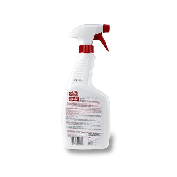 Nature's Miracle Stain & Odor Remover Trigger Spray 3