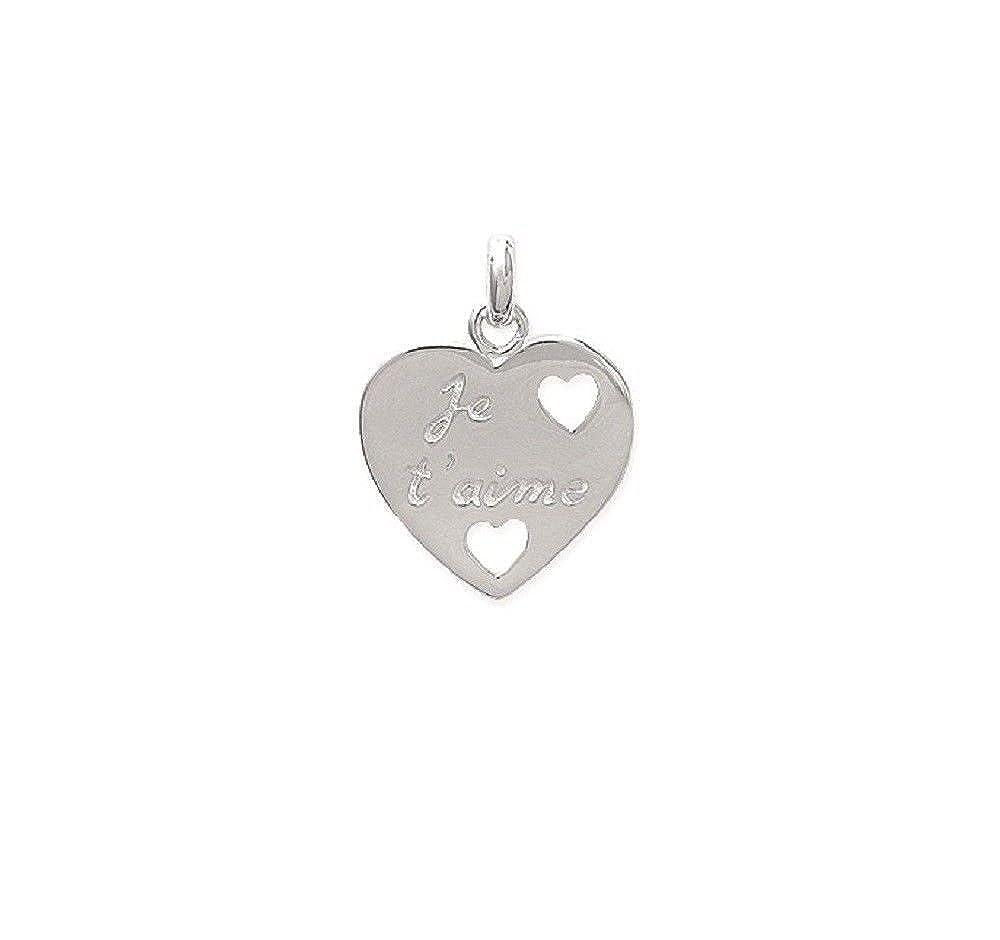 Coeur Anneau Véritable Solide Argent Sterling 925 Bijoux face hauteur 6 mm taille 6