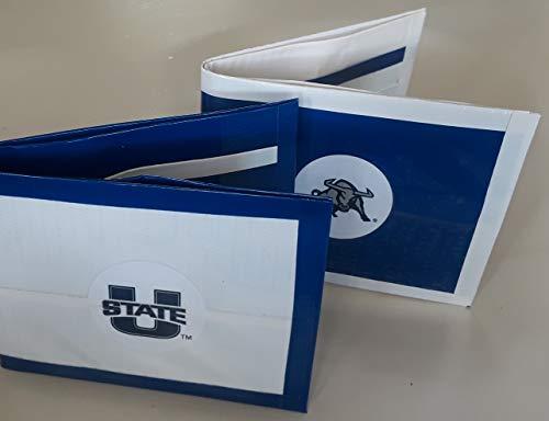 Aggies Purse - Utah State University Aggies NCAA Bi-Fold Duct Tape Wallet