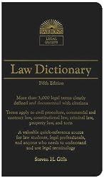 Law Dictionary: Mass Market Edition (Barron's Law Dictionary (Mass Market))