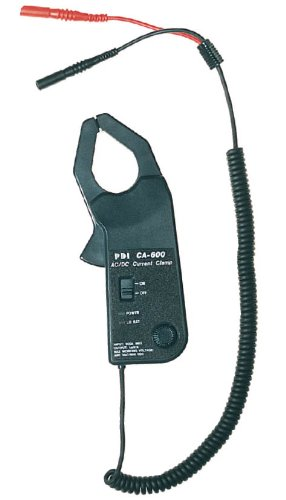 PDI CA-600 Handheld 600 Amp AC/DC Current Clamp Probe, Gray