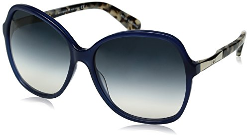 Kate Spade Women's Jolyn Square Sunglasses, Gold/Blue Gradient Pea, 58 ()