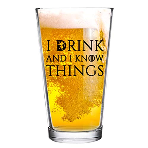 I Drink and I