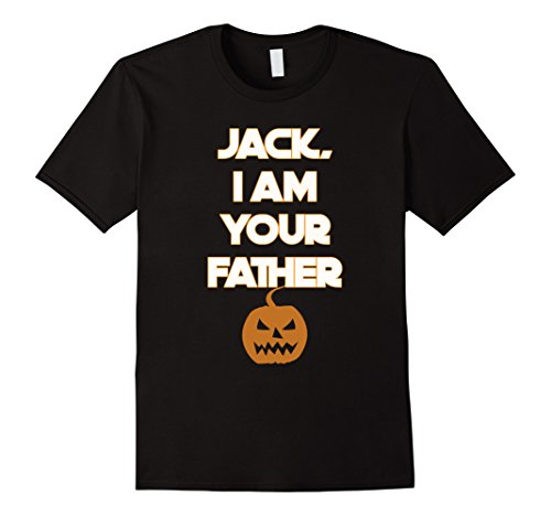 Mens Halloween - Jack, I am your Father T-Shirt Large Black - Father Sky Costume