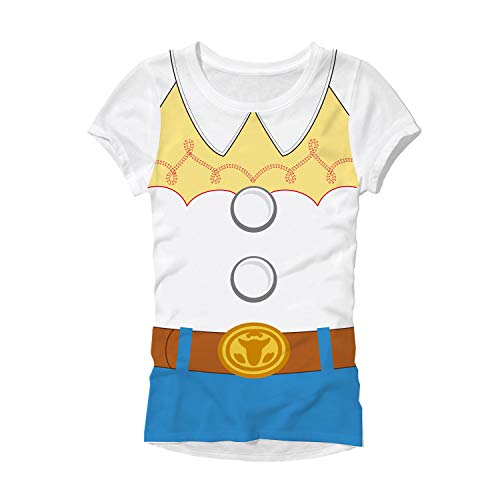 Disney I am Jessie Toy Story Costume T-Shirt (Medium, Jessie)]()