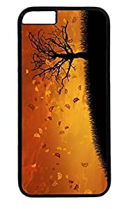 Autumn Tree Thanksgiving Easter PC Black Case for Masterpiece Limited Design iphone 6 plus by Cases & Mousepads