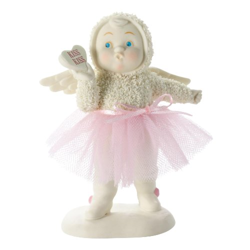 Department 56 Snowbabies Kiss Kiss Figurine, 1.46 inch