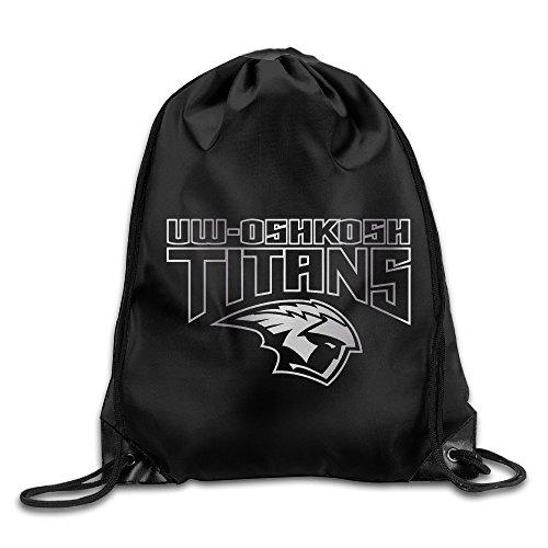Price comparison product image Wisconsin Oshkosh Titans Platinum Logo Drawstring Backpack Bag