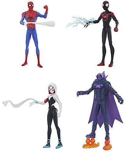 スパイダーマン(マイルス・モラレス) 「スパイダーマン:スパイダーバース」 ハズブロアクションフィギュア 6インチ ベーシック ウェーブ1