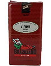 Braziliano Café Select Vienna Blend Ground Coffee Vacuum Pack, 250 g