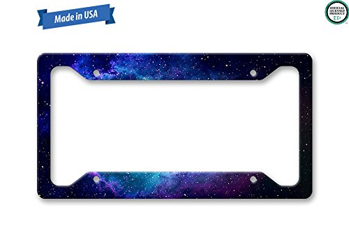The Turnip Seed Co Galaxy Space License Plate Frame ()