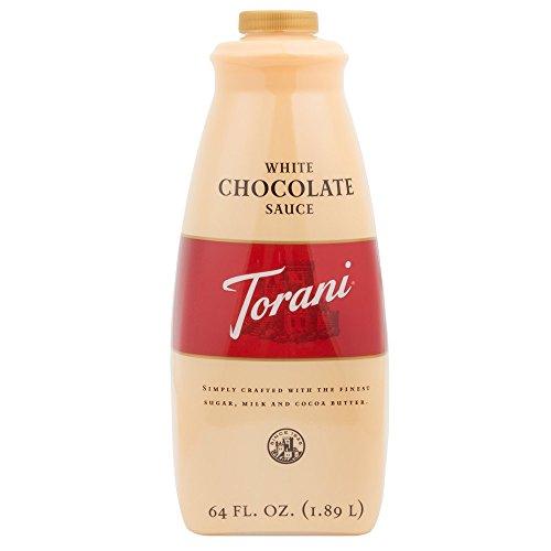 (Torani White Chocolate Sauce, 64 Ounce)