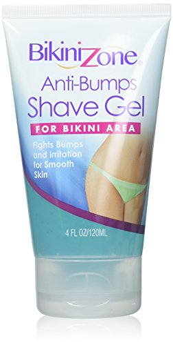 Bikini Zone Shave Gel Anti-Bumps, 4 Ounce (3 Pack) (Bikini Zone Shaving Gel)