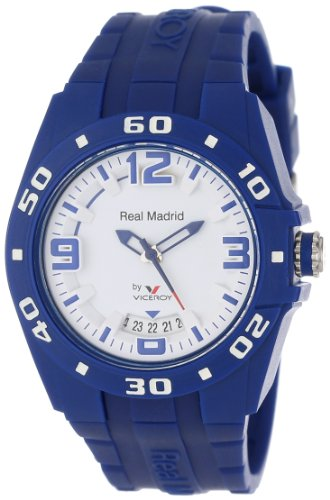 Viceroy Women's 432834-35 Real Madrid Sports Blue Rubber Date Watch