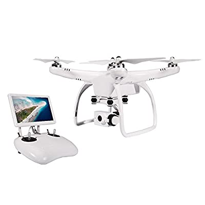 UPair 2.7K FPV Drone with 7 inch Monitor Live Video Camera Quadcopter, Return to Home Function, Aerial Photography Beginner Drone by Yiying