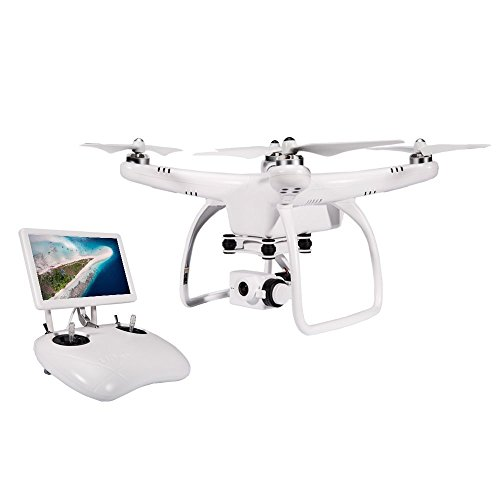 UPair 27K FPV Drone With 7 Inch Monitor Live Video Camera Quadcopter Return To Home Function Aerial Photography Beginner