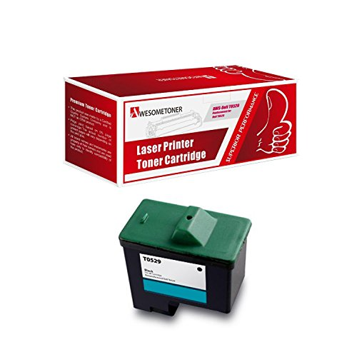 (Awesometoner Compatible T0529 Black Ink Cartridge For Dell Printer A920 & Dell Printer 720)