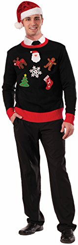 Forum Novelties Men's Do It Yourself Ugly Christmas Sweater Kit, Multi, One Size
