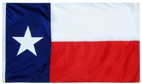 3x5 FT Double Sided TX Texas Flag Best Quality Cotton Flag P