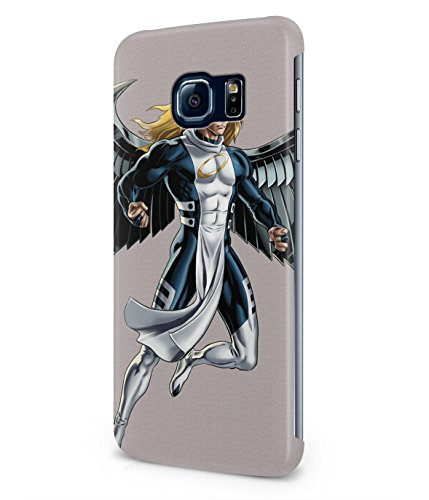Anjo X-men Archangel Warren Worthington Plastic Snap-On coque case Cover Shell For Coque Samsung Galaxy S6 EDGE