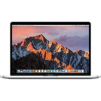"Apple 15"" MacBook Pro, Retina, Touch Bar, 2.8GHz Intel Core i7 Quad Core, 16GB RAM, 256GB SSD, Silver, MPTU2LL/A (Newest Version)"