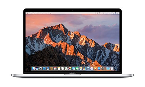 Apple MacBook Pro MLW72LL/A 15-inch Laptop with Touch Bar, 2.6GHz quad-core Intel Core i7, 256GB, Retina Display, Silver (Discontinued by Manufacturer)