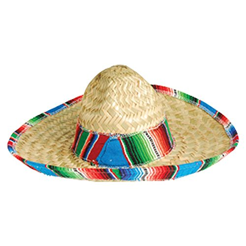 US Toy Child's Mexican Sombrero (Mexican Girl Costume)