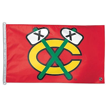 NHL Chicago Blackhawks WCR74317011 Team Flag, 3' x 5'