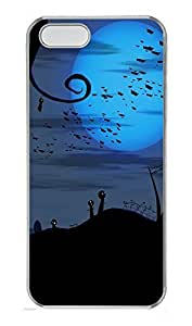 iPhone 5 5S Case Twisted Graveyard PC Custom iPhone 5 5S Case Cover Transparent