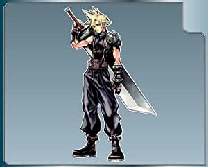 """CLOUD STRIFE from Dissidia Final Fantasy vinyl decal sticker #1 4"""""""