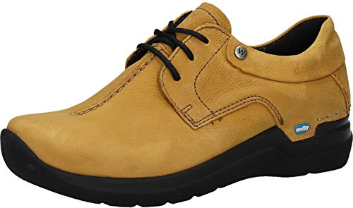 Zapatos De Para Wolky 11932 Mujer Nubukleder Curry Cordones 8FwnqdxUv