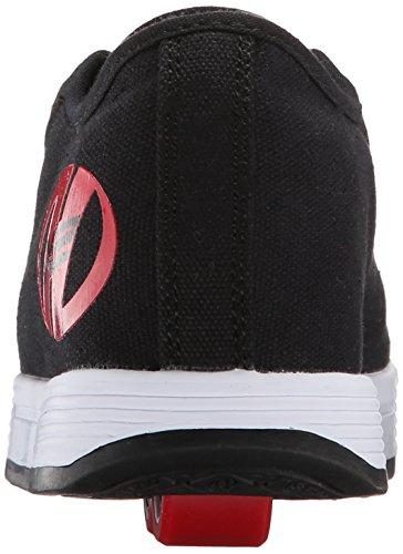 HEELYS Fresh 770494 - Zapatos dos ruedas para niños Black/Red