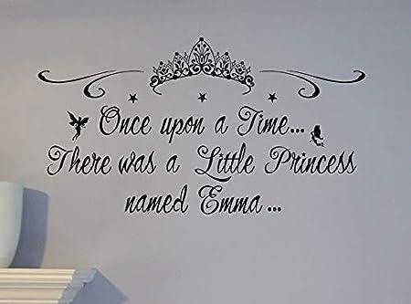 Stickerz El Cliente Hizo Nombre Personalizado Pequeña Princesa ...