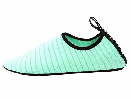 papala Mens Womens Kids Barefoot Quick-Dry Water Shoes Yoga Aqua Socks Slip-On Sneakers Light Green pVf60NxY