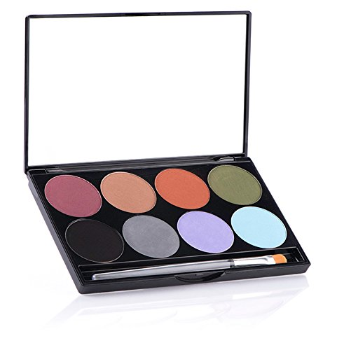 Earth Wind And Fire Costume Halloween - Mehron iNtense Pro Pressed Pigment Palette Earth for Hair, Body, and Eyes Make-Up Kit